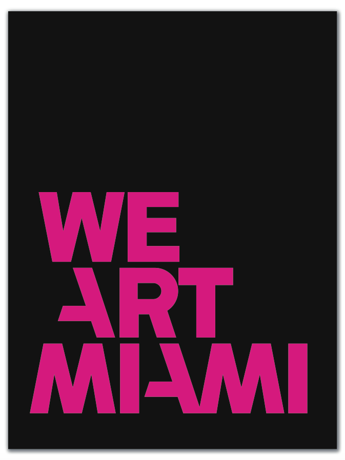 WE ART MIAMI book