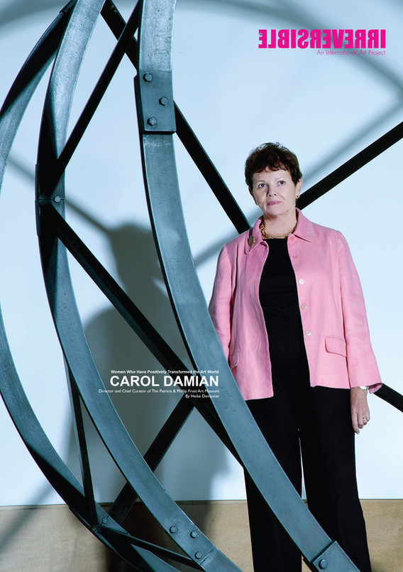 Dr. Carol Damian: An unforgettable Mentor formerExecutive Director and Chief Curator of the Patrici