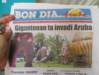 GIANTS IN THE CITY PROME ENCUENTRO BIENAL ARTE CONTEMPORANEO DI CARIBE ARUBA, 2011-2012