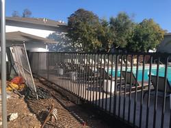 Pool Fence Paint Job