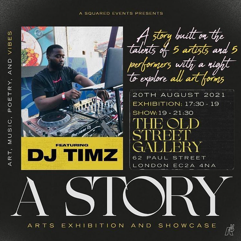 A STORY - Art, music, poetry and good vibes