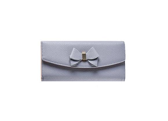 Bow Wallet | Grey