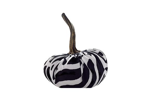 Scented Velvet Fairytale Pumpkin | Zebra