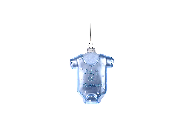Baby's 1st Christmas Ornament | Blue