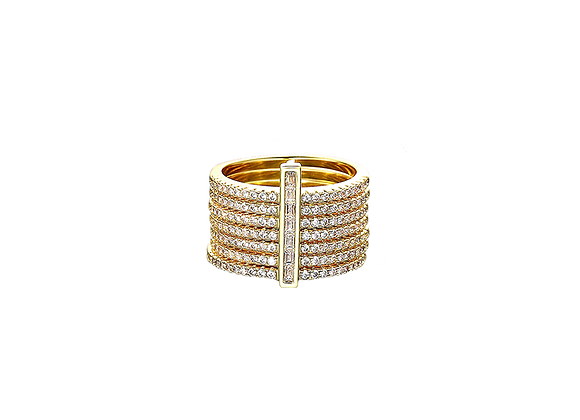 Amour Sans Fin Diamant Ring | Gold