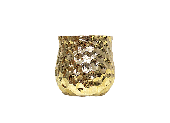 Scaled Vase | Gold