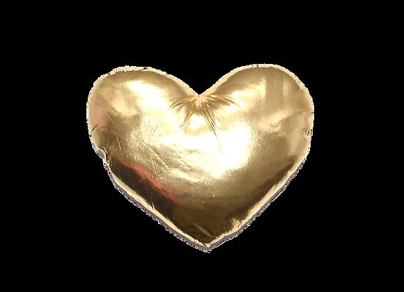 Heart Pillow | Gold