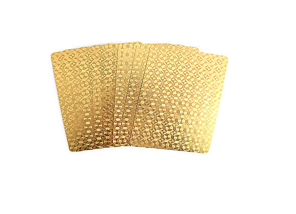 Decorative Gold Cards