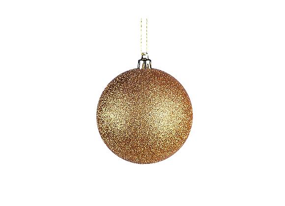 Glitter Ball Ornament | Gold