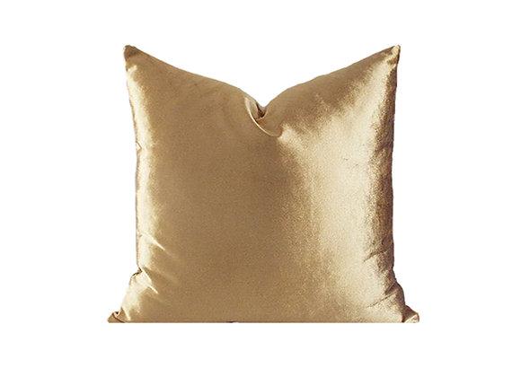 Shimmer Velvet Pillow | Gold