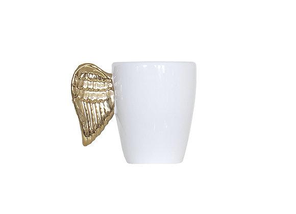 Gold Wing Mug | White + Gold