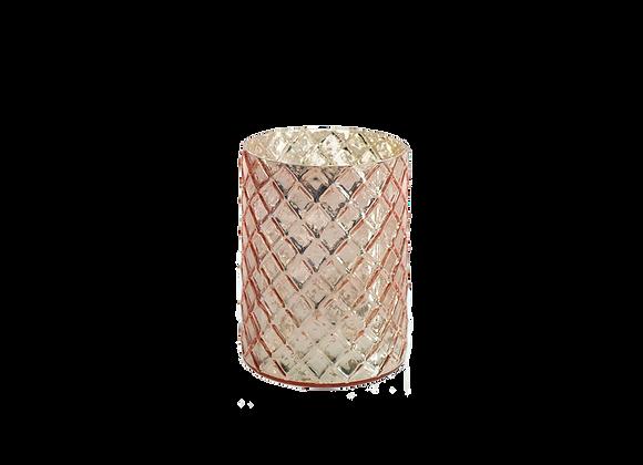 Small Mercury Glass Vase | Blush