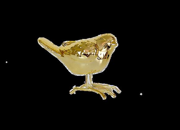 Small Bird Figurine | Gold