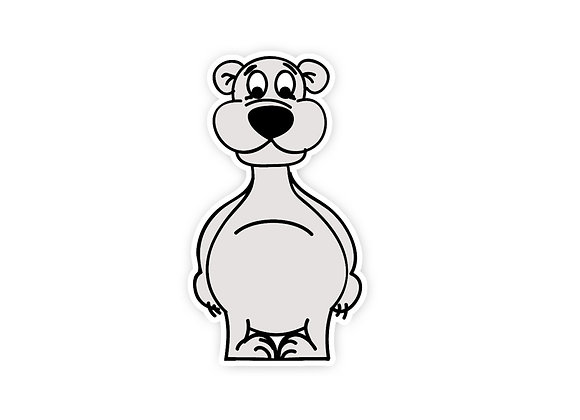 Bailey the Bear Wall Sticker