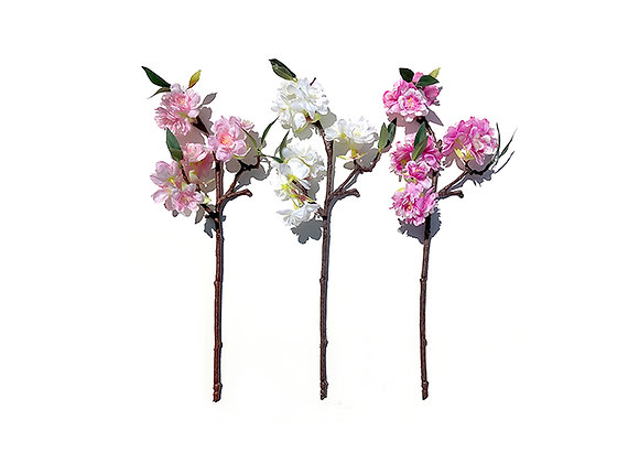 Mini Faux Cherry Blossom Branches (6)
