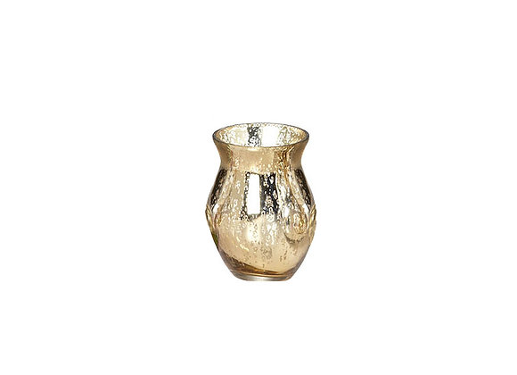 Mya Vase | Mercury Gold