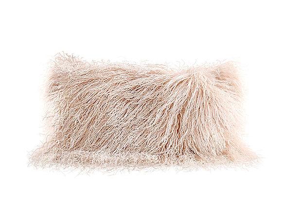 Mongolian Fur Pillow