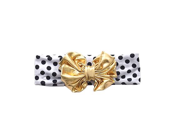 Bow Headwrap | Polka Dots