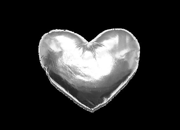 Heart Pillow | Silver