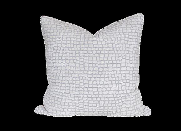 Exotic Croc Pillow | Grey