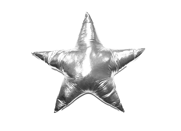 Star Pillow | Silver