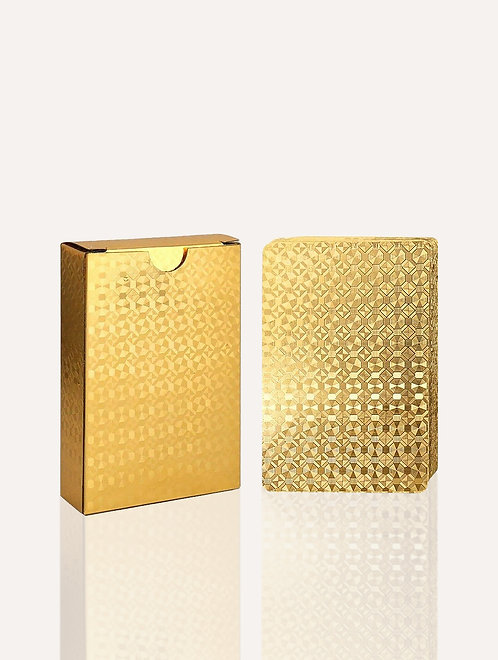 Tanya Lane Gold Playing Cards