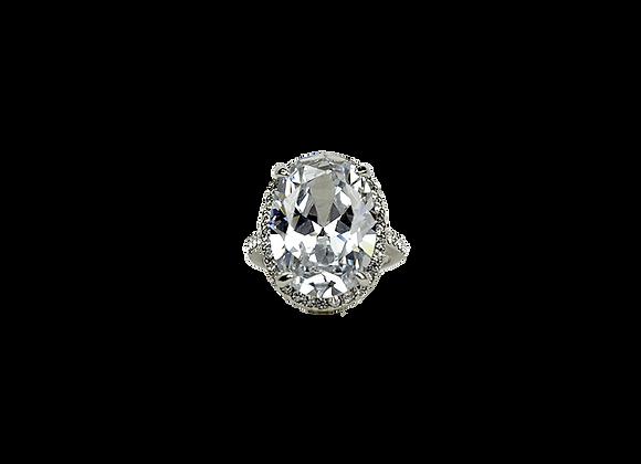 Coup de Foudre Diamant Ring | Silver