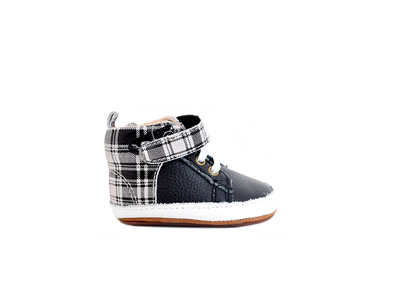 Baby High Tops | Plaid
