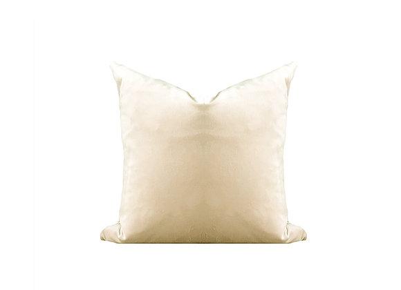 Ultra Soft Lux Velvet Pillow   Light Cappucino