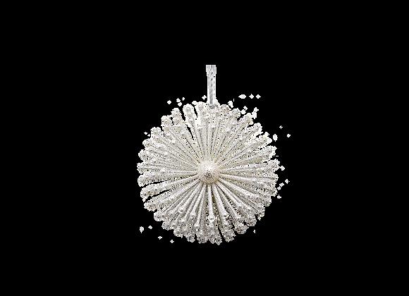 Glitter Urchin Ornament | Champagne