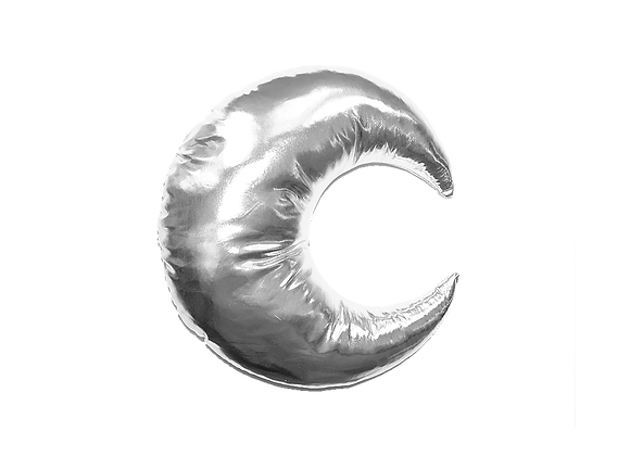 Moon Pillow | Silver