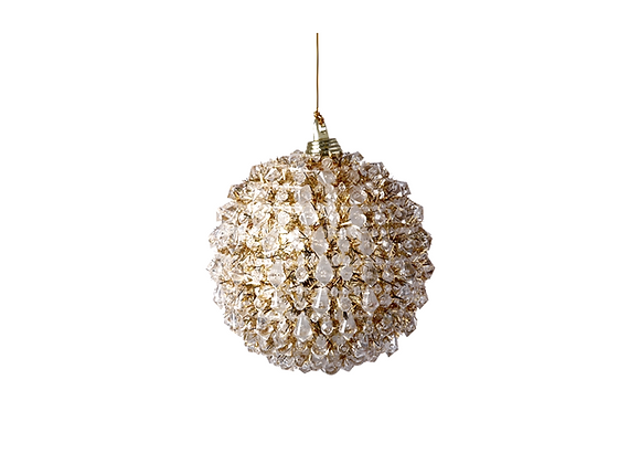 Golden Iced Bauble