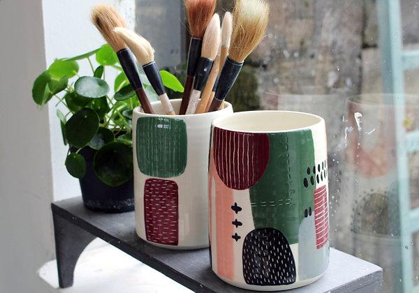 Abstract Vase | Ceramic Homewares | Handmade Irish Gifts | Christmas Gifts