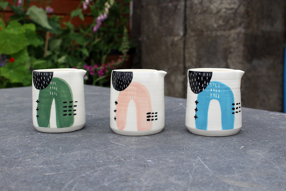 MAKA Ceramics - Abstract Jugs - Irish Homewares