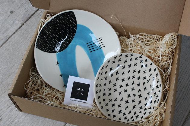 Ceramic Dishes Gift Set - Handmade Irish Gifts - Irish Pottery - Tableware - Christmas Gifts