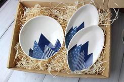 Peaks Dish Set