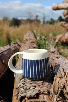 MAKA Ceramics, Navy Coffee Cup - Irish Pottery