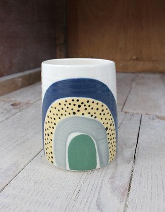Rainbow Vase   Ceramic Homewares   Handmade Irish Gifts   Christmas Gifts