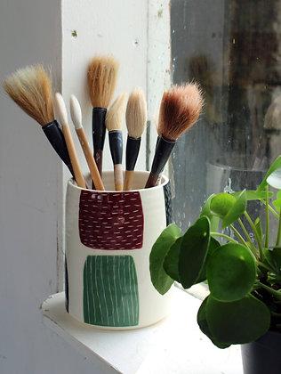 Abstract Vase   Ceramic Homewares   Handmade Irish Gifts   Christmas Gifts