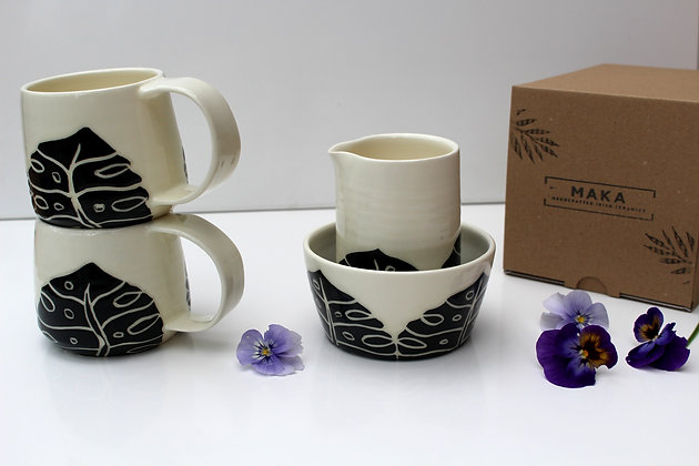 Tropical Collection - Handmade Ceramic Tableware