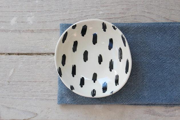 Scribble Small Dish- Handmade Irish Gifts - Irish Pottery - Tableware - New Home Gifts