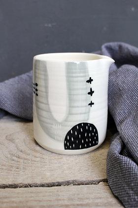 Abstract Creamer Jug - Handmade Irish Pottery – Gifts