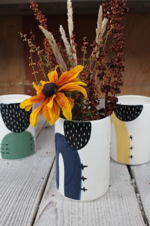 Ceramic Abstract Vases - Irish Pottery - Homewares - Gift
