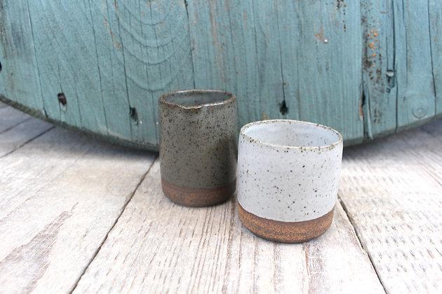 Ceramic Jug & Dipping Gift Set - Handmade Irish Gifts - Irish Pottery - Tableware - Stoneware