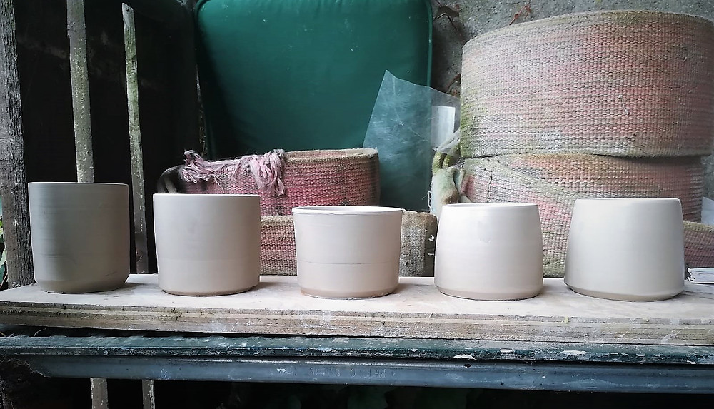 Pottery studio Kilkenny - pottery production