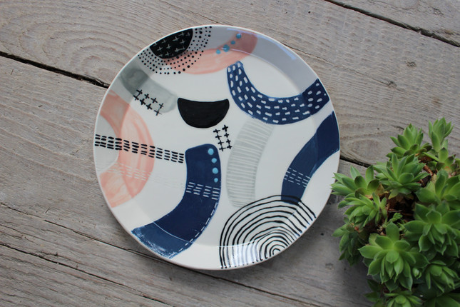 MAKA Ceramics Tableware, Dinner Plate -  Irish Pottery