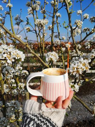 MAKA Ceramics, Pink Coffee Cup - Irish Pottery