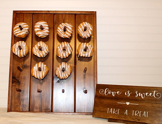 Table Top Donut Wall