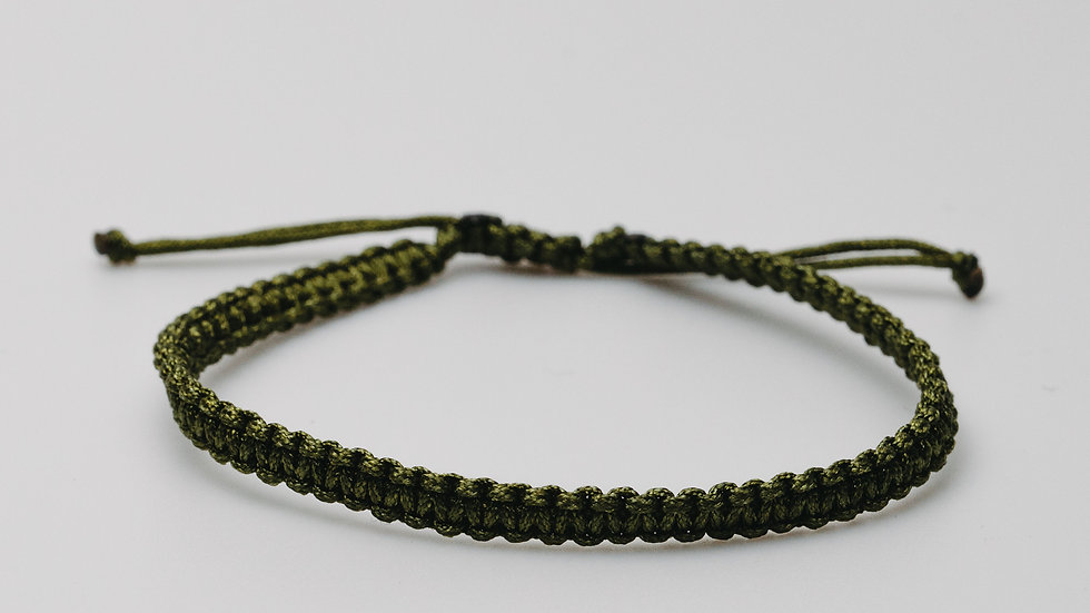Wrist Band Army Green