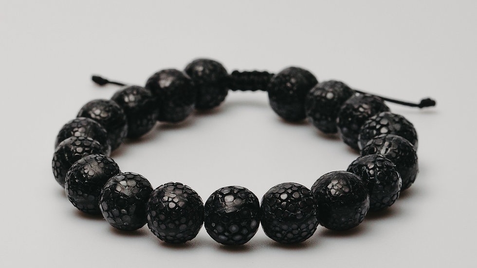 Stingray Leather Black